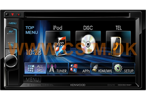"Kenwood DDX5015BT 6,2"" multimediaanlæg"