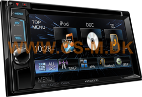 "Kenwood DDX4015BT 6,2"" multimediaanlæg"