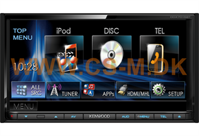"Kenwood DDX7015BT 7"" multimediaanlæg"