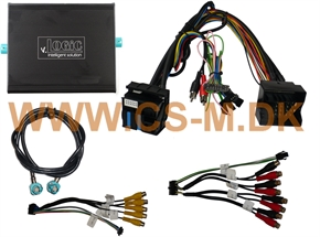v.LOGiC Media-controller 4 stk indgang, BMW E-series, 4pin HSD