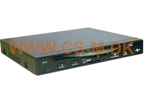 DVD/CD/MP3/VCD-AFSPILLER 1/2-DIN
