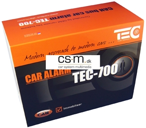 TEC-700 Can-bus styret alarm